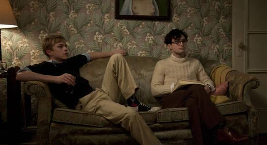 Kill Your Darlings -  Lucien Carr (Dane DeHaan) und Allen Ginsberg (Daniel Radcliffe) zu Besuch bei Jack Kerouac © Koch Media  © Koch Media