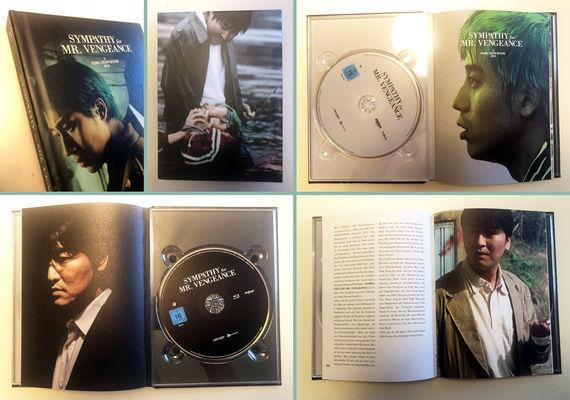 Mediabooks zu LAdy Vengeance und Sympathiy for Mr. Vengeance © capelight pictures