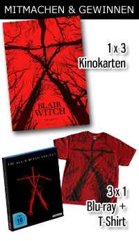 Blair Witch und The Blair Witch Projekt © Studiocanal