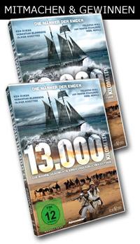 13.000 Kilometer Die wahre Geschichte einer unglaublichen Odyssee  © Eurovideo